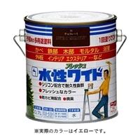 ニッペ 多用途塗料 水性フレッシュワイド 0.7L イエロ−