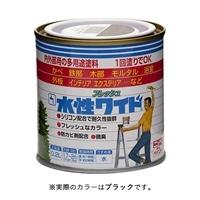 ニッペ 多用途塗料 水性フレッシュワイド 0.2L ブラック