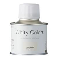 ホワイティカラーズ 刷毛付き ピュアホワイト 80ml