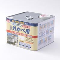 水性シリコン外かべ用 8kg 01ホワイト