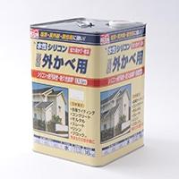 水性シリコン外かべ用 16kg 01ホワイト【別送品】