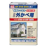 水性シリコン外かべ用 16kg 02アーバングレー【別送品】