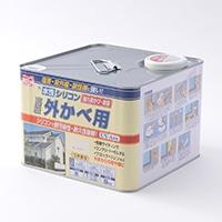 水性シリコン外かべ用 8kg 03アイボリー