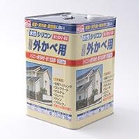 水性シリコン外かべ用 16kg 03アイボリー【別送品】