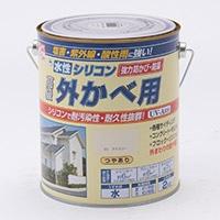 水性シリコン外かべ用 2kg 03アイボリー