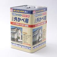 水性シリコン外かべ用 16kg 04クリーム【別送品】