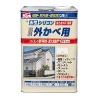 水性シリコン外かべ用 16kg 06マリーゴールド【別送品】