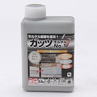 ニッペホームプロダクツ ガッツモルタル No.1 ライトグレー 0.5kg