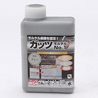 ニッペホームプロダクツ ガッツモルタル No.1 グレー 0.5kg