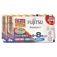 富士通 アルカリ乾電池 単4形 1.5V LR03 Premium S/8個パック