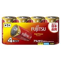 富士通ハイパワーアルカリ単1 4本