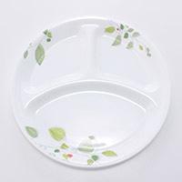 コレール ランチ皿(大) グリーンブリーズ