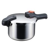 ステンレス製片手圧力鍋4.5L H5436