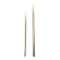 キャプテンスタッグ M-6624 竹製バーベキュー菜箸 2膳セット