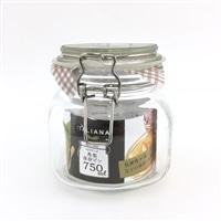 イタリアーナ 角型保存ビン 750ml
