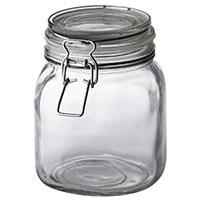 イタリアーナ 角型保存瓶 1.0L No.L-1011