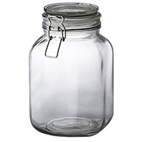 イタリアーナ 角型保存瓶 2L