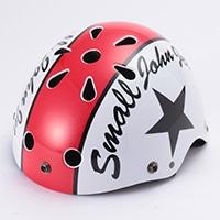 Y−6561 キッズヘルメット(レッドスター)S