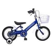 【ネット限定】【自転車】【全国配送】補助輪付き子供用自転車 リーズポート 16インチ ブルー【別送品】