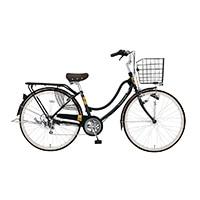 【自転車】【全国配送】《ホダカ》軽快フロートミックスX 外装6段 26インチ Dグリーン【別送品】
