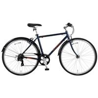 【自転車】【全国配送】《ホダカ》アレッサクロスK 外装7段 700C マットブルー【別送品】