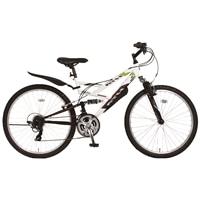 【自転車】《ホダカ》ATH-435 269-A ホワイト/ブラック【別送品】