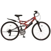【自転車】《ホダカ》ATH-435 269-A レッド/ブラック【別送品】
