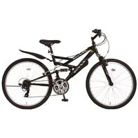 【自転車】《ホダカ》ATH-435 269-A ブラック/ブラック【別送品】