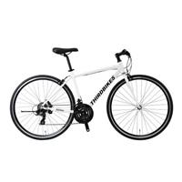 【自転車】《ホダカ》サードバイクス 700×28Cクロスバイク フェスクロス 外装21段 ホワイト