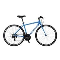 【自転車】《ホダカ》サードバイクス 700×28Cクロスバイク フェスクロス 外装21段 ブルー