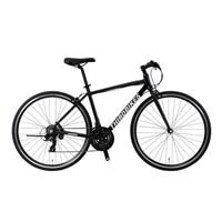 【自転車】《ホダカ》サードバイクス 700×28Cクロスバイク フェスクロス 外装21段 ブラック