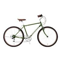 【自転車】《ホダカ》サードバイクス 26型マウンテンクロス サーフサイド 外装6段 グリーン