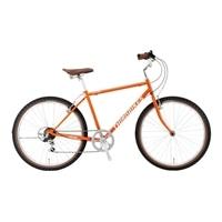 【自転車】《ホダカ》サードバイクス 26型マウンテンクロス サーフサイド 外装6段 オレンジ