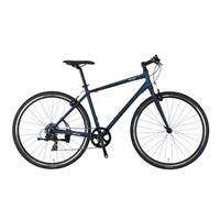 【自転車】《ホダカ》ネスト 700×32C クロスバイク バカンゼ2 480mm マットブルー