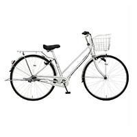 【自転車】《マルキン自転車》27型シティ車 フォンセ 内装3段 シルバー