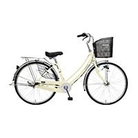 【自転車】【全国配送】軽快車 フォンセ-K 26インチ ベージュ【別送品】
