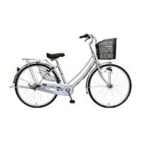 【自転車】【全国配送】軽快車 フォンセ-K 26インチ シルバー【別送品】