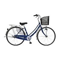 【自転車】【全国配送】軽快車 フォンセ-K 27インチ ダークブルー【別送品】