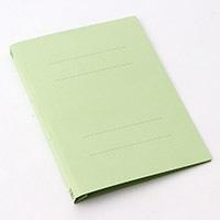 プラス フラットファイルA4S グリーン