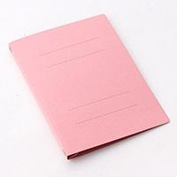 プラス フラットファイルA4S ピンク