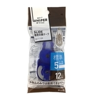 PLUS 修正テープスライド12M 115R ブルー