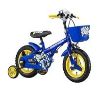 【自転車】【全国配送】《ブリヂストン》補助輪付き子供用自転車 トイランドスタンダード 12インチ ブルー【別送品】