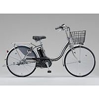 【自転車】【全国配送】《ブリヂストン》電動自転車 アシスタベーシック 3段 26インチ シルバー【別送品】