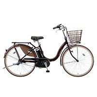 【自転車】【全国配送】《ブリヂストン》電動自転車 アシスタベーシック 3段 26インチ ブラウン【別送品】