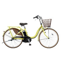 【自転車】【全国配送】《ブリヂストン》電動自転車 アシスタベーシック 3段 26インチ イエロー【別送品】