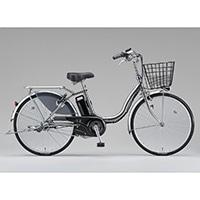 【自転車】【全国配送】《ブリヂストン》電動自転車 アシスタベーシック 3段 24インチ シルバー【別送品】