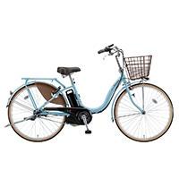 【自転車】【全国配送】《ブリヂストン》電動自転車 アシスタベーシック 3段 24インチ ブルー【別送品】