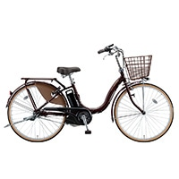 【自転車】【全国配送】《ブリヂストン》電動自転車 アシスタベーシック 26インチ ブラウン【別送品】