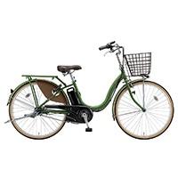 【自転車】【全国配送】《ブリヂストン》電動自転車 アシスタベーシック 26インチ オリーブ【別送品】