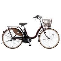 【自転車】【全国配送】《ブリヂストン》電動自転車 アシスタベーシック 24インチ ブラウン【別送品】